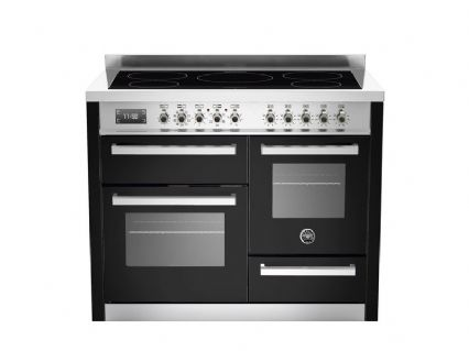 Bertazzoni 110 cm induction top electric triple oven Professional Series PRO110-5I-MFE-T-NET